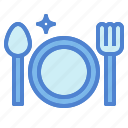 breakfast, cutlery, dinner, dish, restaurant icon