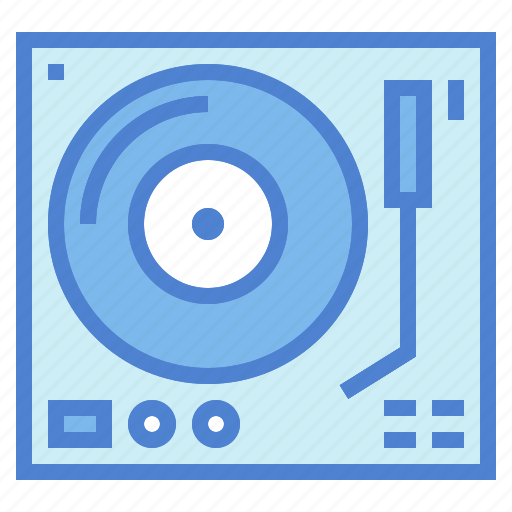 dj, music, player, turntable, vinyl icon