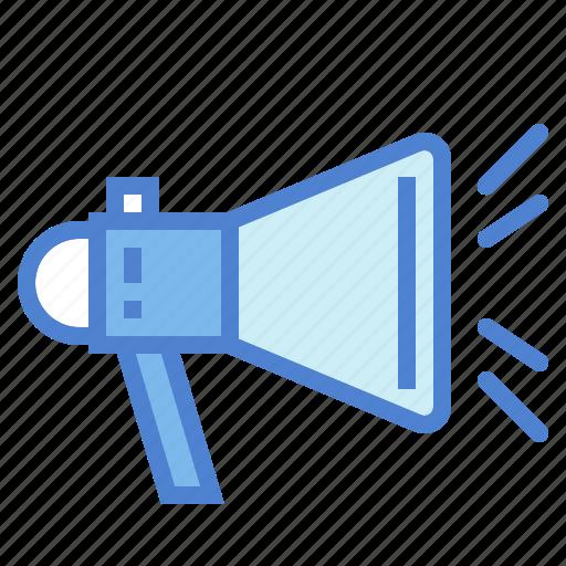communications, loud, marketing, megaphone, speaker icon