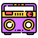 audio, boombox, electronic, music, radio, sound