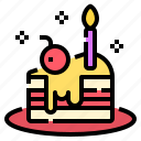 bakery, birthday, cake, dessert, sweet
