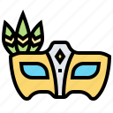 disguise, fancy, mask, masquerade, party icon