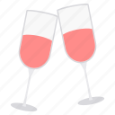 bash, beverage, celebration, drink, gala, glass, party icon
