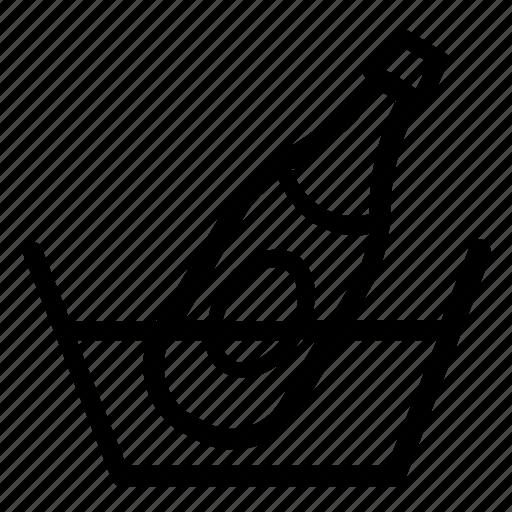 alcohol, bar, beverage, bottle, celebrate, celebrating, celebration, champagne, champagne bottle, cocktail, cold, dinner, drink, fine wine, ice, night out, open bottle, pub, restaurant, wine, wine bottle icon