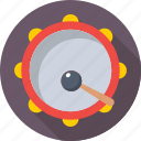 drum, music, music instrument, party, percussion icon