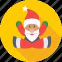 christmas, merry christmas, santa, santa claus, xmas icon