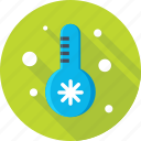 season, snow, temperature, thermometer, winter icon