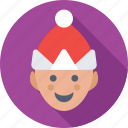 avatar, boy, christmas, person, winter icon