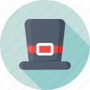 high hat, magician, tall hat, top hat, victorian hat icon