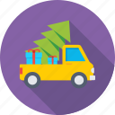 cargo, christmas, christmas tree, shopping, xmas icon