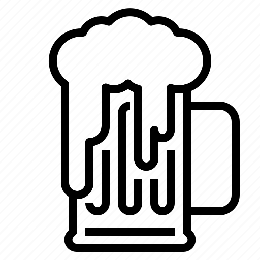 beer, mug icon