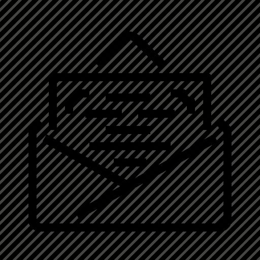 card, invitation icon