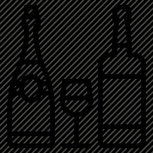Bottle, wine icon - Download on Iconfinder on Iconfinder