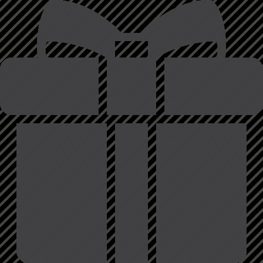box, gift, present, ribbon icon