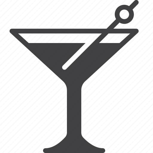 alcohol, bar, cocktail, glass icon