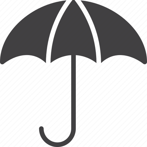 open, season, umbrella, weather icon