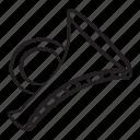 brass, trumpet, cornet, musical instrument, bugle, party instrument
