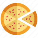 food, italian, junk, meal, pizza, slice, snack icon