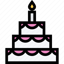 alcohol, bar, birthday, cake, holiday, party icon