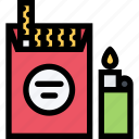 alcohol, bar, birthday, cigarettes, holiday, party icon