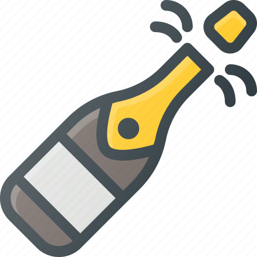 Celebrate, champagne, new, party, year icon - Download on Iconfinder