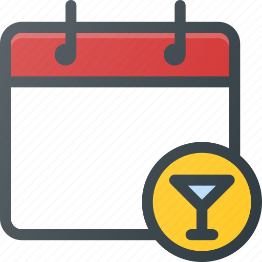 calendar, date, party icon