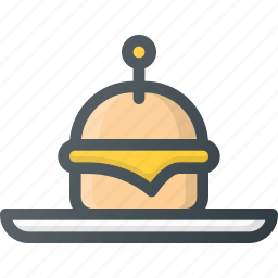 appetiser, food, sliders icon