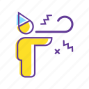 celebration, event, group, party, party hat, party horn icon