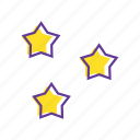 decoration, event, party, star, stars icon