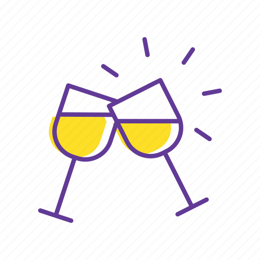 celebration, cheers, drink, drinks, event, party, party glass icon
