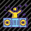 dance, decoration, disco, dj, dj party, event, party