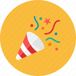 party, poppers icon