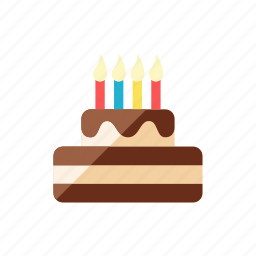 birthday, cake icon