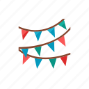 flag, party icon