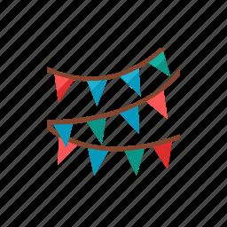 flag, party icon