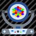 head, led, light, lighting, moving, wash, zoom icon
