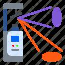 gobo, light, lighting, mirror, moving, scaner icon