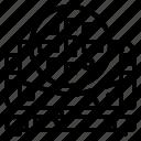 head, led, light, lighting, moving, zigzag icon