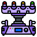 crossfire, led, lighting, lights, moving, party icon