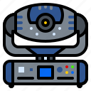head, intimidator, led, lighting, moving icon