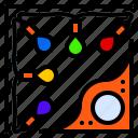frame, light, lighting, lights, party icon