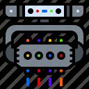 headbanger, led, lighting, lights, roller, rotating icon