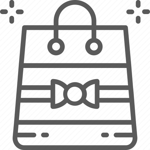bag, gift, package, paper, party, present, wrapping icon