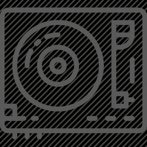 audio, mixer, music, party, record, remote, vinyl icon
