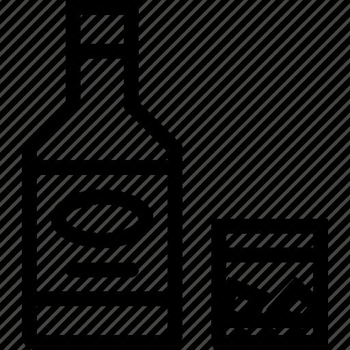 alcohol, bar, birthday, holiday, party, whiskey icon