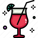 birthday, celebration, cocktail, drink, glass, party icon