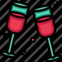 celebration, cheers, party icon