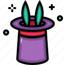 birthday, celebration, christmas, hat, magic, party icon
