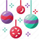 bauble, christmas, party icon