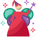 birthday, celebration, christmas, fairy, new year, party icon